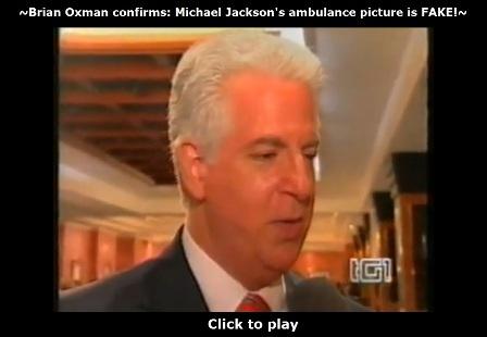 Brian Oxman confirms: Michael Jackson's ambulance photo is fake