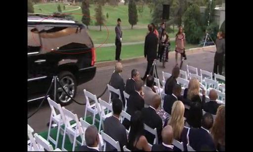 Michael Jackson burial