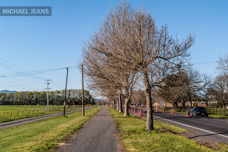 Laurent Road, Cambridge Branchline, Victoria Road, Hautapu NZ