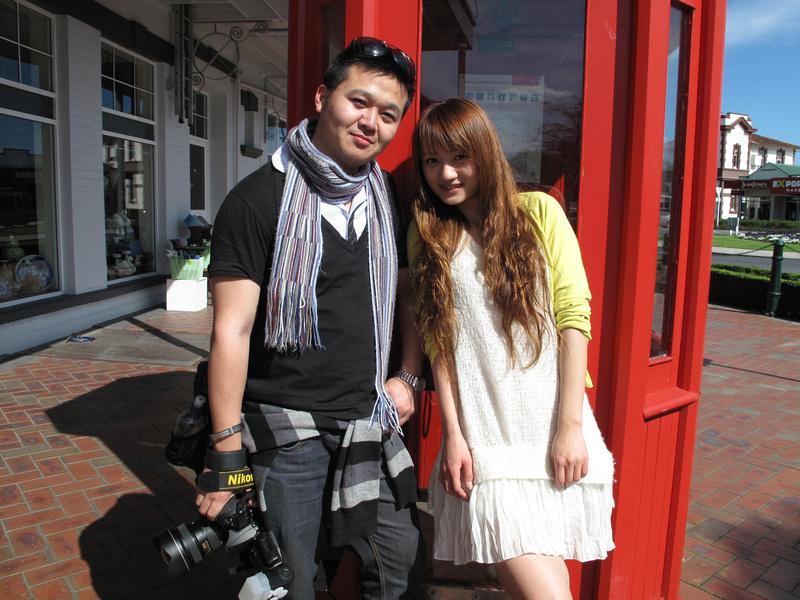 Thomas Huang and Anna