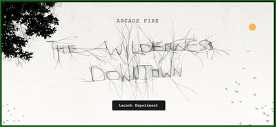 Arcade Fire meets HTML5 and Chrome!