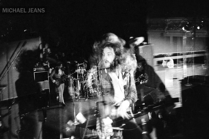 Jethro Tull Auckland Town Hall July 1972