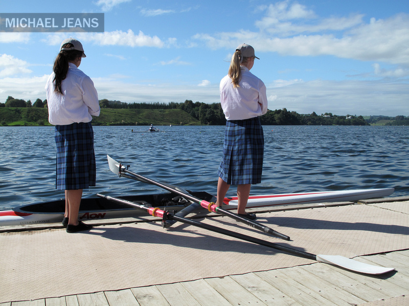 Boat holders medal presentation pontoon Lake Karapiro