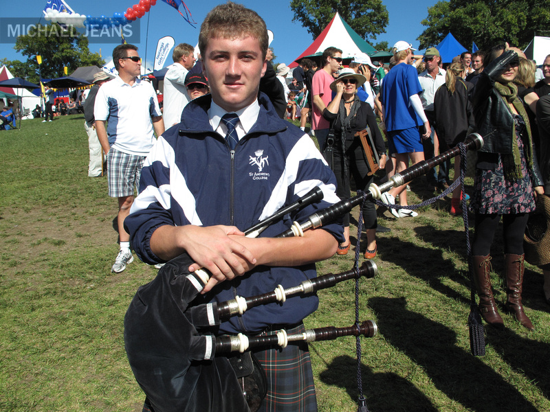 St Andrew's College piper