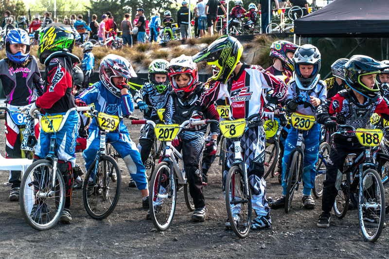 Competitors 2013 New Zealand BMX Nationals Cambridge NZ