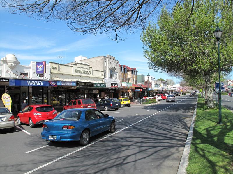 Victoria Street, Cambridge, New Zealand