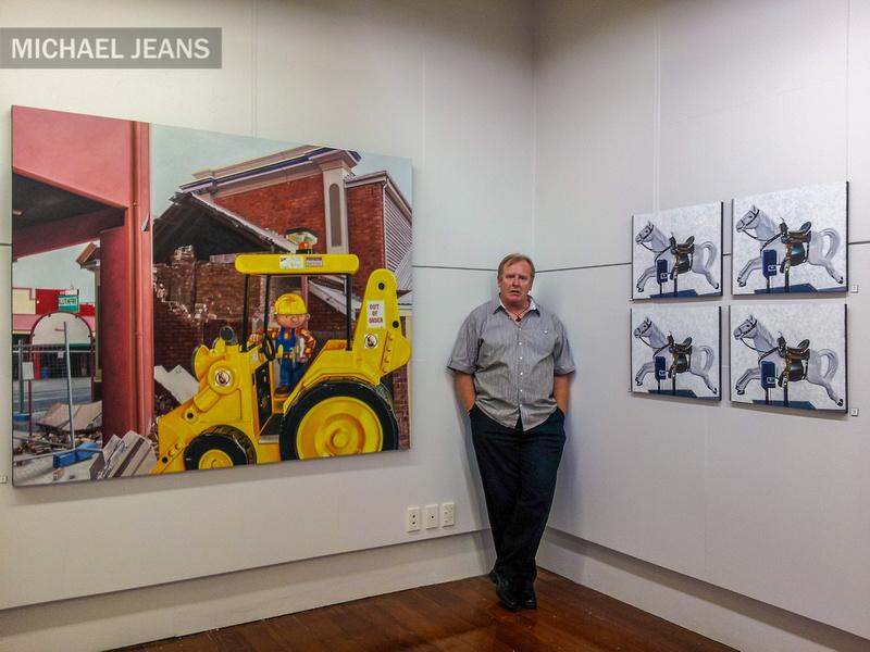 David Woodings ArtsPost Gallery Hamilton