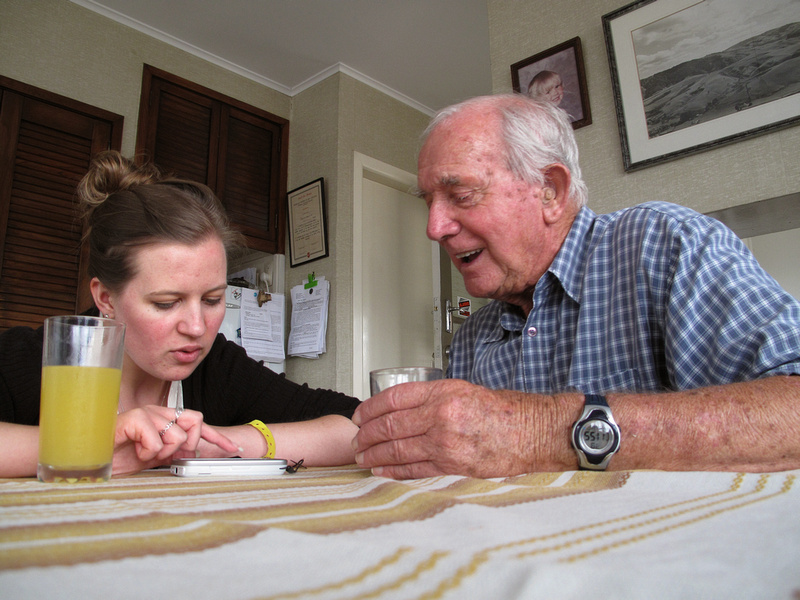 Karena and her Grandad