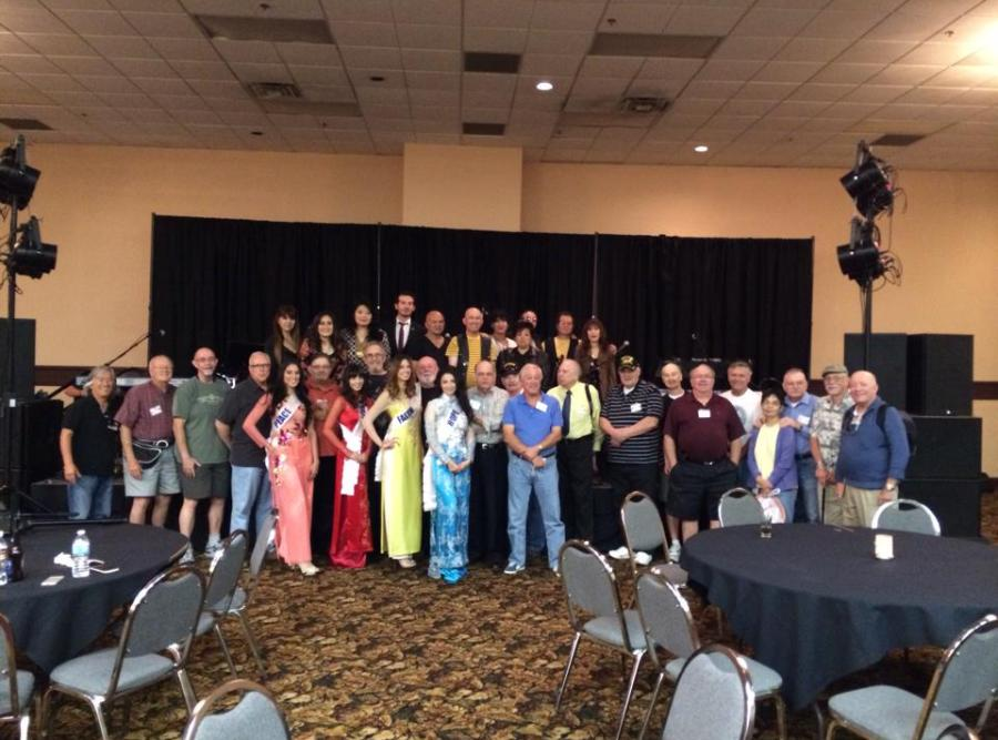 CBC 40 years reunion of CICViet Combined Intelligence Center VietNam Veterans Las Vegas October 2013
