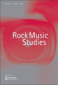 Rock Music Studies