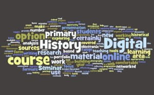 Digital History Tag Cloud