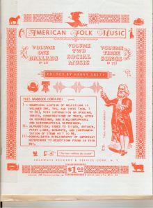 Anthology of American Folk Music Front