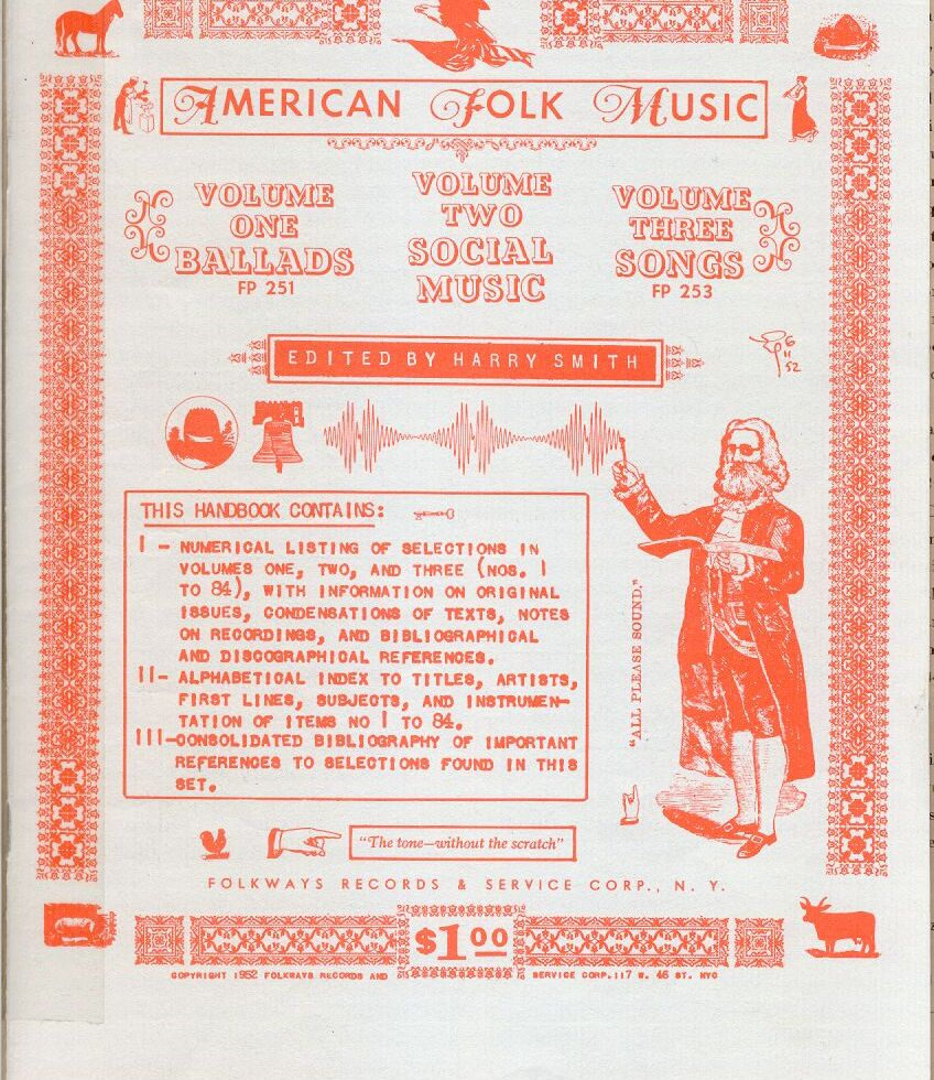 Anthology of American Folk Music Front