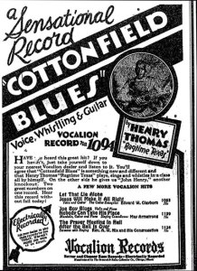Henry Thomas Cottonfield Blues