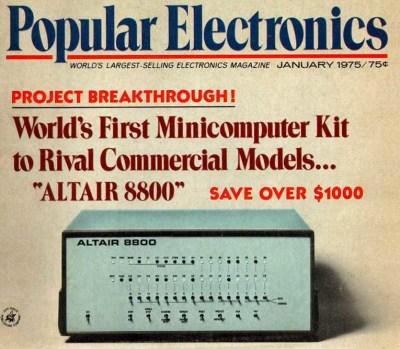 Altair Popular Electronics