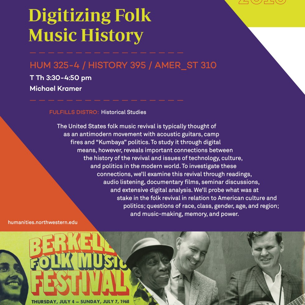 Digitizing Folk Music History_WQ16 course flyer 11_9_15