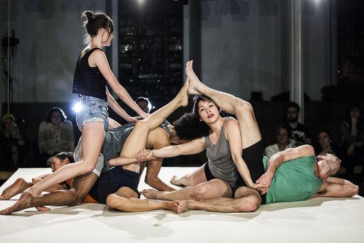 Faye Driscoll Group, Thank You For Coming: Attendance Photo: Maria Baranova