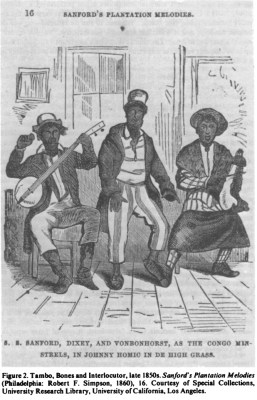 Tambo Bones Interlocuter Sanfords Plantation Melodies
