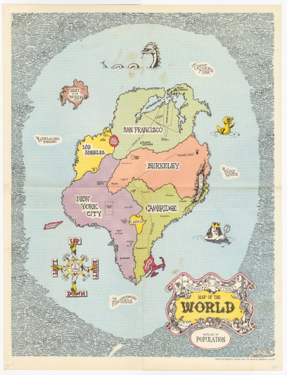 Shubb Crabb Humbeads Revised Map of the World