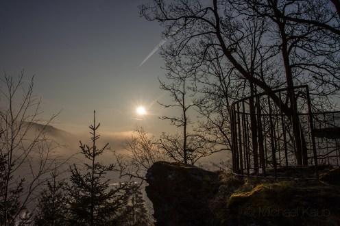 Engelbertstuhl unweit der Burgruine Schwarzenberg (Foto: Michael Kaub)