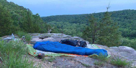 Thru Hiker - Cowboy Camping!