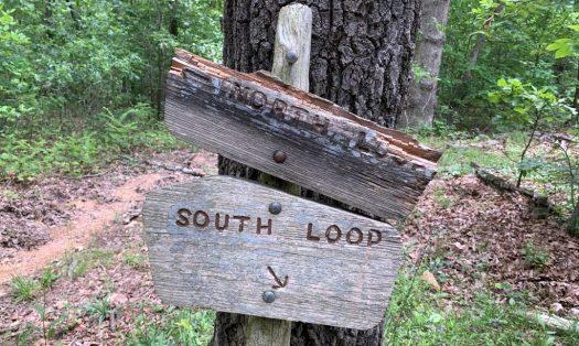 Thru Hiker - Direction Sign