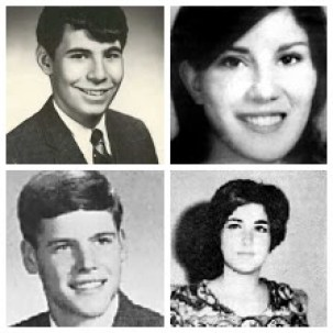 Collage of Jeffrey Glenn Miller, Allison B. Krause, William Knox Schroeder, and Sandra Lee Scheuer.