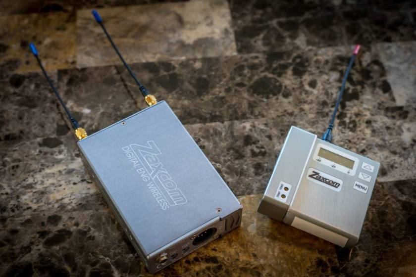 Zaxcom ENG wireless.