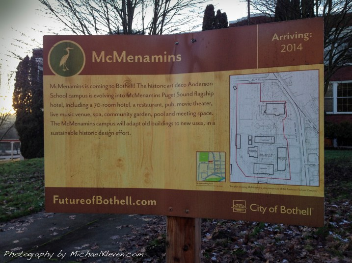 McMenamins open a destination resort in Bothell Washington