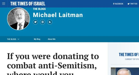 Michael Laitman en Times of Israel
