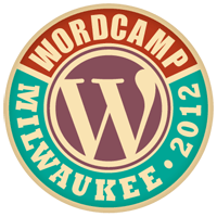 Logo for WordCamp Milwaukee 2012