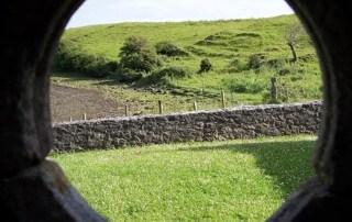 View Through A 360 Degree Circle