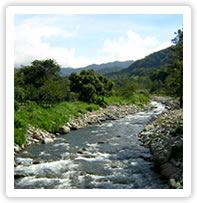 Panama has beautiful rivers, mountains and rain forests.