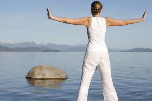 Meditation by Lake