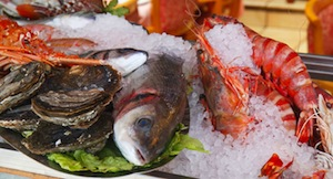 Variety of Seafood