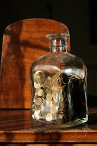 Jar with Money