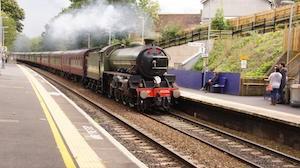 Train on Tracks