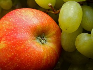 """An apple a day keeps the doctor away"" is a well know saying that has merit. Be sure to eat organic apples."