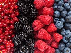 Berries are super foods with many health benefits.