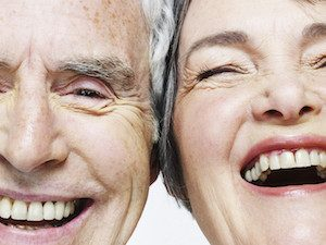 Older Couple Happy