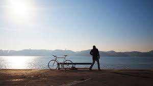 Bike and Man