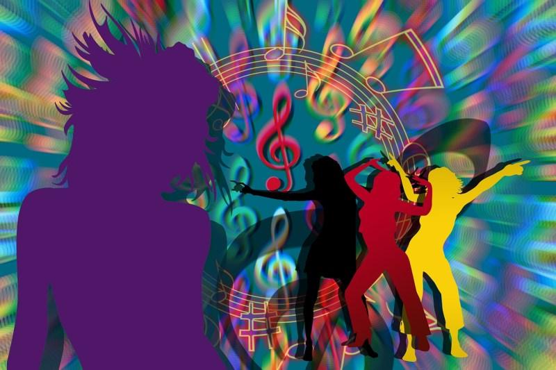 Dance Disco People Dancing