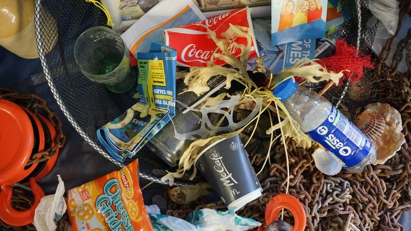 Rubbish Seaside Beach Waste