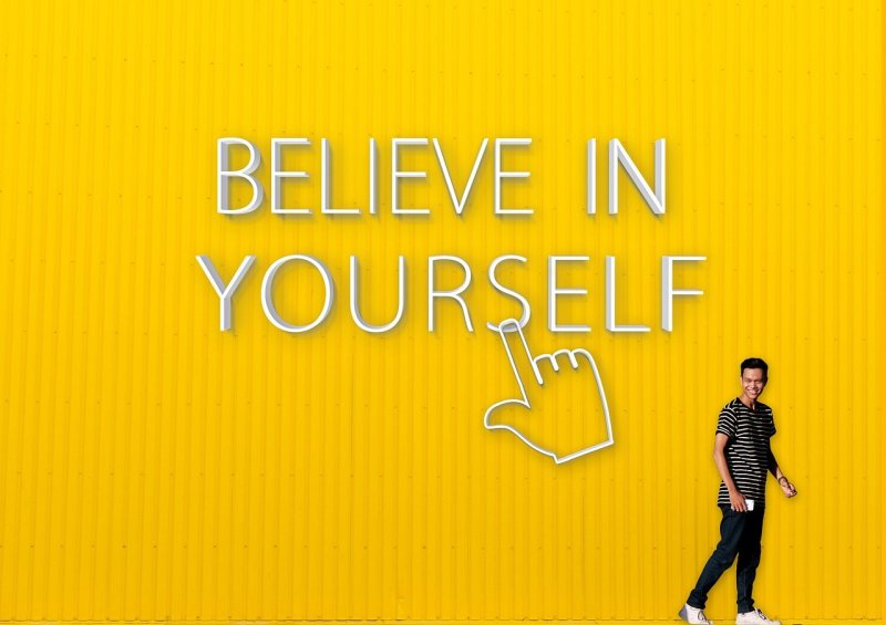 Believe In Yourself Quote Motivation