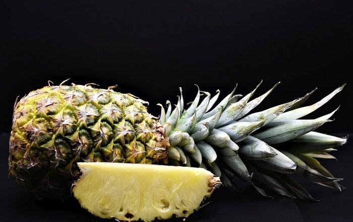 Pineapple Fruit Food Sliced