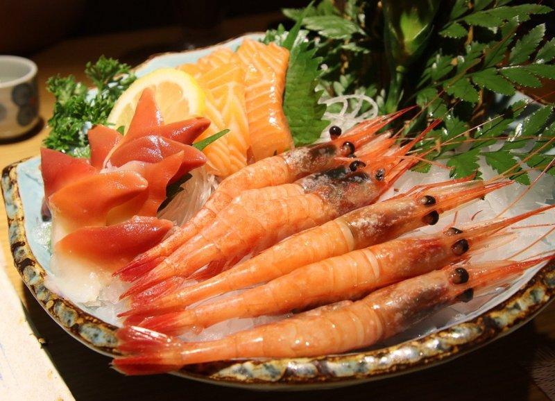 Shrimp Sashimi Seafood Food