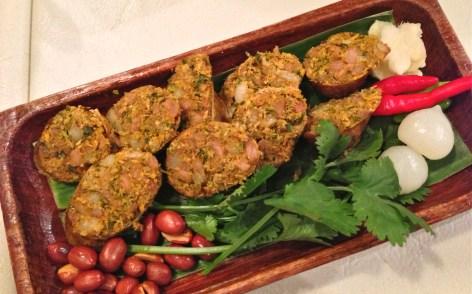 spicy thai sausage