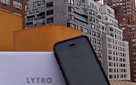 iPhone Lytro3