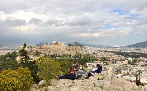 philopappos view