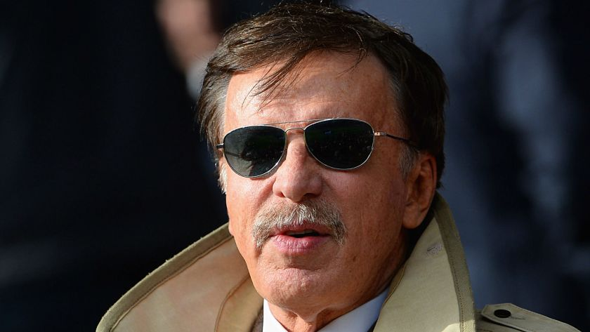 The much hated Stan Kroenke, who owns the controlling shares in Arsenal F.C.